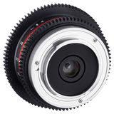 Samyang 7.5mm T3.8 UMC VDSLR MFT objectief - thumbnail 4