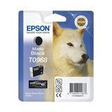 Epson Inktpatroon T0968 - Matte Black (origineel) - thumbnail 1
