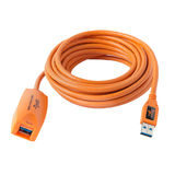 Tether Tools TetherPro USB 3.0 Active Extension 5 Meter Oranje - thumbnail 1
