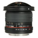 Samyang 8mm f/3.5 Fisheye MC Sony CS-II objectief - thumbnail 3
