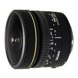 Sigma 8mm f/3.5 EX DG Fisheye Nikon objectief - thumbnail 1