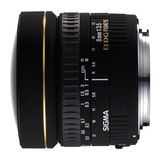 Sigma 8mm f/3.5 EX DG Fisheye Nikon objectief - thumbnail 2