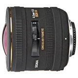 Sigma 4.5mm f/2.8 EX DC HSM Fisheye Nikon objectief - thumbnail 1