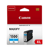 Canon Inktpatroon PGI-1500XL Cyan - thumbnail 1