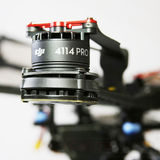 DJI Pro S1000 Motor With Red Prop Cover - thumbnail 4