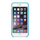 Apple iPhone 6 Plus Silicone Case Blue - thumbnail 2