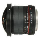 Samyang 8mm f/3.5 Fisheye MC Canon CS-II objectief - thumbnail 1