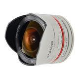 Samyang 8mm f/2.8 Fisheye UMC Fujifilm X objectief Zilver - thumbnail 3