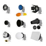 Falcon Eyes Universele Camera Flitser Strobist Set SGA-K9 - thumbnail 6