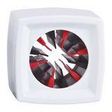 Rycote Single Square White Mic Flag - thumbnail 1