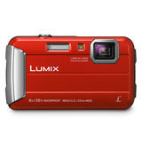 Panasonic Lumix DMC-FT30 compact camera Rood - thumbnail 2