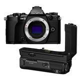 d74be5740da Olympus OM-D E-M5 Mark II systeemcamera Body Zwart + HLD-8