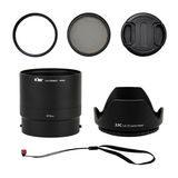 Kiwi Lens Adapter Kit voor Nikon Coolpix P600/B700 - thumbnail 2