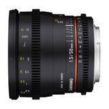 Samyang 50mm T1.5 AS UMC VDSLR Nikon objectief - thumbnail 1