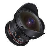 Samyang 12mm T3.1 ED AS NCS VDSLR Fisheye Sony E objectief - thumbnail 2