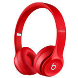 Beats Solo 2 Wireless Red On-Ear koptelefoon - thumbnail 1
