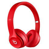 Beats Solo 2 Wireless Red On-Ear koptelefoon - thumbnail 2