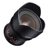 Samyang 10mm T3.1 ED AS NCS CS II VDSLR Sony objectief - thumbnail 2