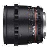 Samyang 85mm T1.5 AS IF UMC II VDSLR Canon objectief - thumbnail 4