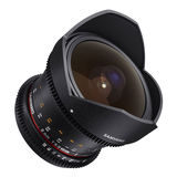 Samyang 8mm T3.8 UMC CS II Fisheye VDSLR Canon objectief - thumbnail 2