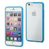 muvit iPhone 6 Plus MyFrame Case Blue/Transparant - thumbnail 1