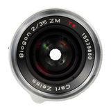 Carl Zeiss ZM Biogon T* 35mm f/2.0 objectief Zilver - thumbnail 2
