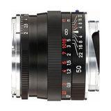 Zeiss ZM Planar T* 50mm f/2.0 objectief Zwart - thumbnail 1