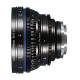 Carl Zeiss Compact Prime CP.2 Planar T* 85mm T2.1 Meters objectief Canon EF-vatting - thumbnail 1