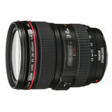 Canon EF 24-105mm f/4.0L IS USM objectief - Occasion - thumbnail 1