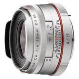 Pentax HD DA 15mm f/4.0 ED AL objectief Zilver - thumbnail 1