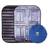 Lastolite Urban Collapsible Shutter/Distressed Door 150 x 210cm - thumbnail 1