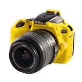 Easycover Cameracase Nikon D5500 Geel - thumbnail 3