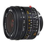 Leica Elmar-M 24mm f/3.8 ASPH objectief Zwart - thumbnail 1