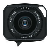 Leica Elmar-M 24mm f/3.8 ASPH objectief Zwart - thumbnail 3