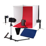 Caruba Portable Fotostudio Halogeen 60x60x60cm - thumbnail 1