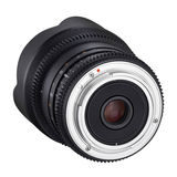 Samyang 10mm T3.1 ED AS NCS CS VDSLR objectief Canon M - thumbnail 5