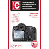 "Caruba LCD-beschermfolie Universeel 2.7"" - 3 stuks - thumbnail 2"