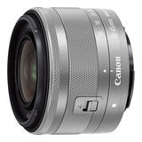 Canon EF-M 15-45mm f/3.5-6.3 IS STM objectief Zilver - thumbnail 1