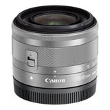 Canon EF-M 15-45mm f/3.5-6.3 IS STM objectief Zilver - thumbnail 2