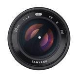 Samyang 50mm f/1.2 AS UMC CS Canon M objectief Zwart - thumbnail 5