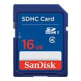 SanDisk 16GB SDHC UHS-I Class 4 10MB/s geheugenkaart - thumbnail 1