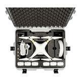 Nanuk Protective Case 945 DJI Phantom 3 koffer Zilver - thumbnail 3