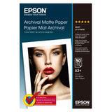 Epson Archival Matte Paper, DIN A3+, 189g/m², 50 Sheets - thumbnail 1