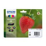 Epson Inktpatroon 29 Multipack Zwart/Cyaan/Magenta/Geel
