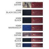 Omega-Strap Blue 25mm draagriem - thumbnail 2