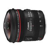 Canon EF 8-15mm f/4.0L Fisheye USM objectief - thumbnail 1