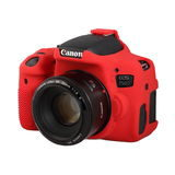 EasyCover Cameracase Canon EOS 750D Rood - thumbnail 2