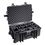 B&W Outdoor Case Type 6700 - Zwart met Vakverdeler - thumbnail 1