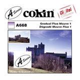 Cokin Filter A668 Gradual Fluo Mauve 1 - thumbnail 1