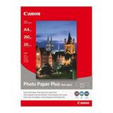 Canon Foto Papier SG-201 Semi-Gloss (Satin) 20 sheets A4 - thumbnail 1